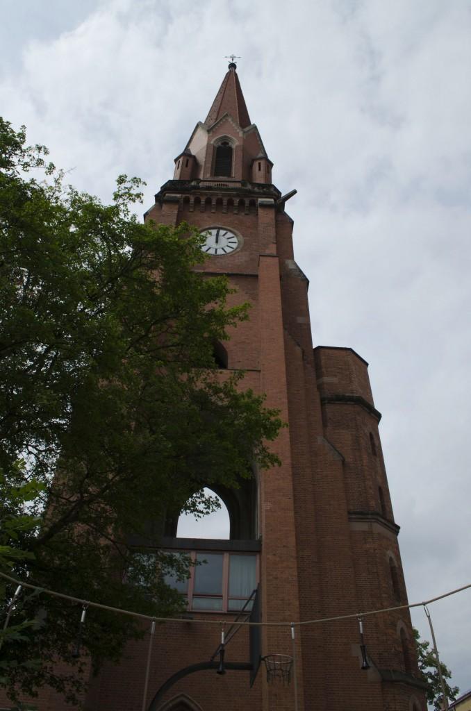 Der Turm der Christuskirche